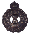 Isle of Wight Rifles cap badge